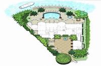 Villas garden design