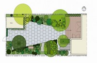 Townhouse garden design