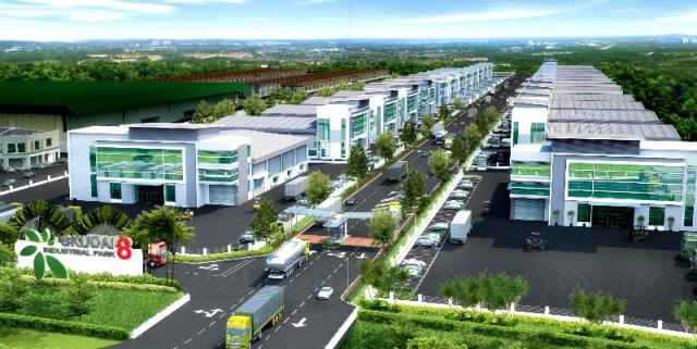 kiến trúc cảnh quan khu công nghiệp